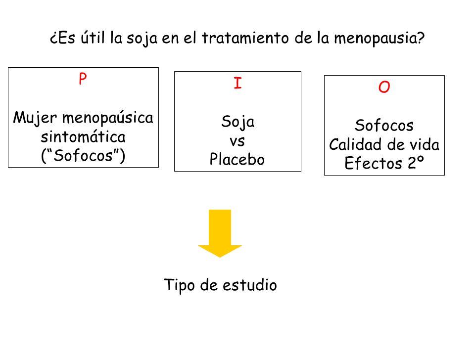 ¿Es útil la soja en el tratamiento de la menopausia