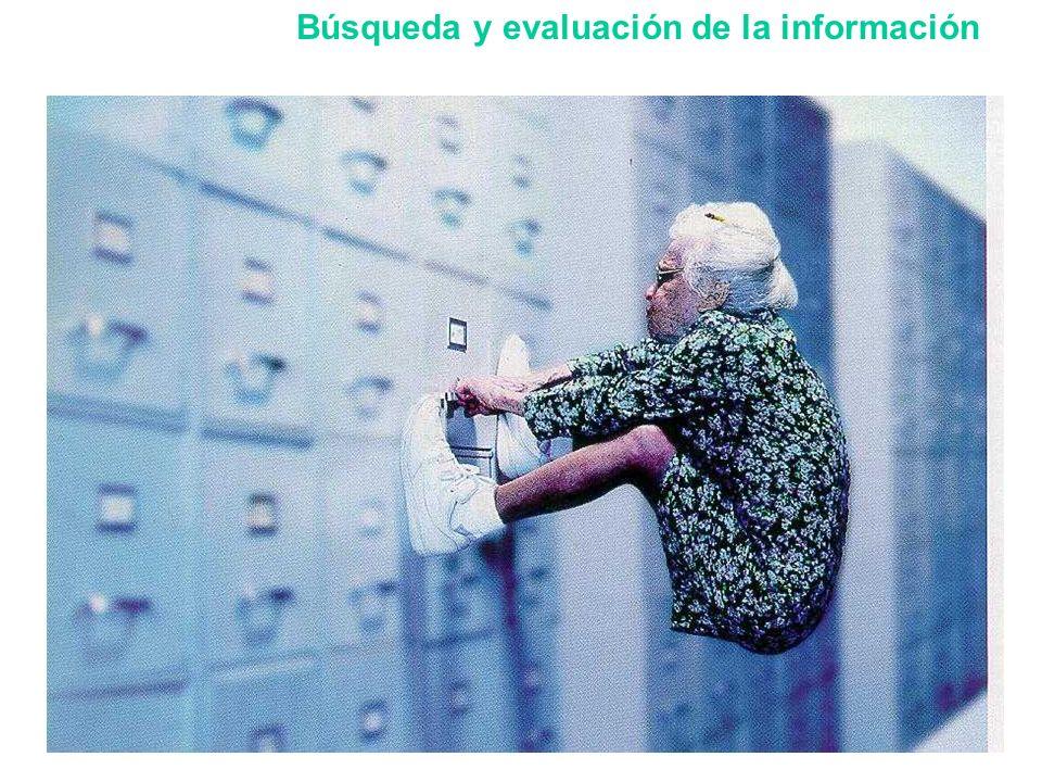 Búsqueda y evaluación de la información