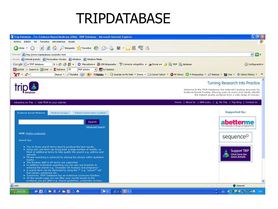 TRIPDATABASE