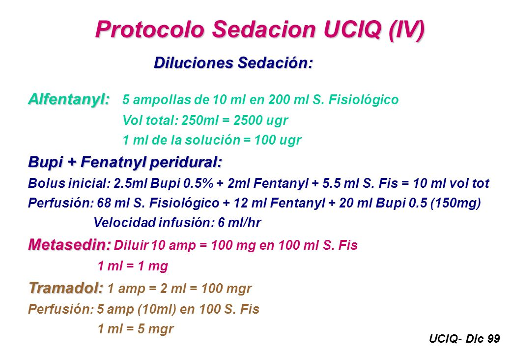 Protocolo Sedacion UCIQ (IV)