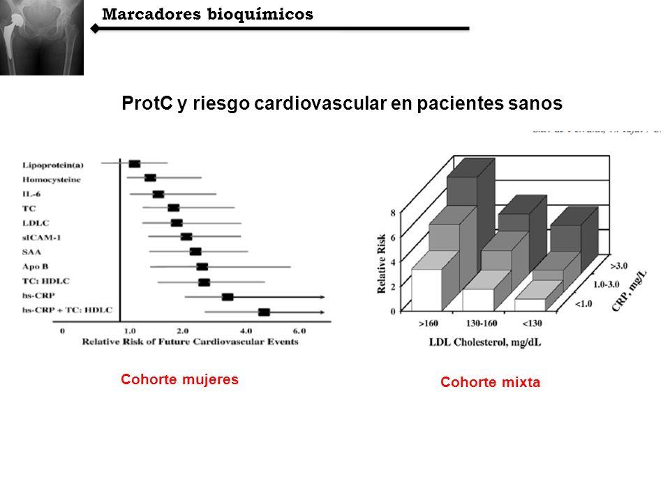 ProtC y riesgo cardiovascular en pacientes sanos