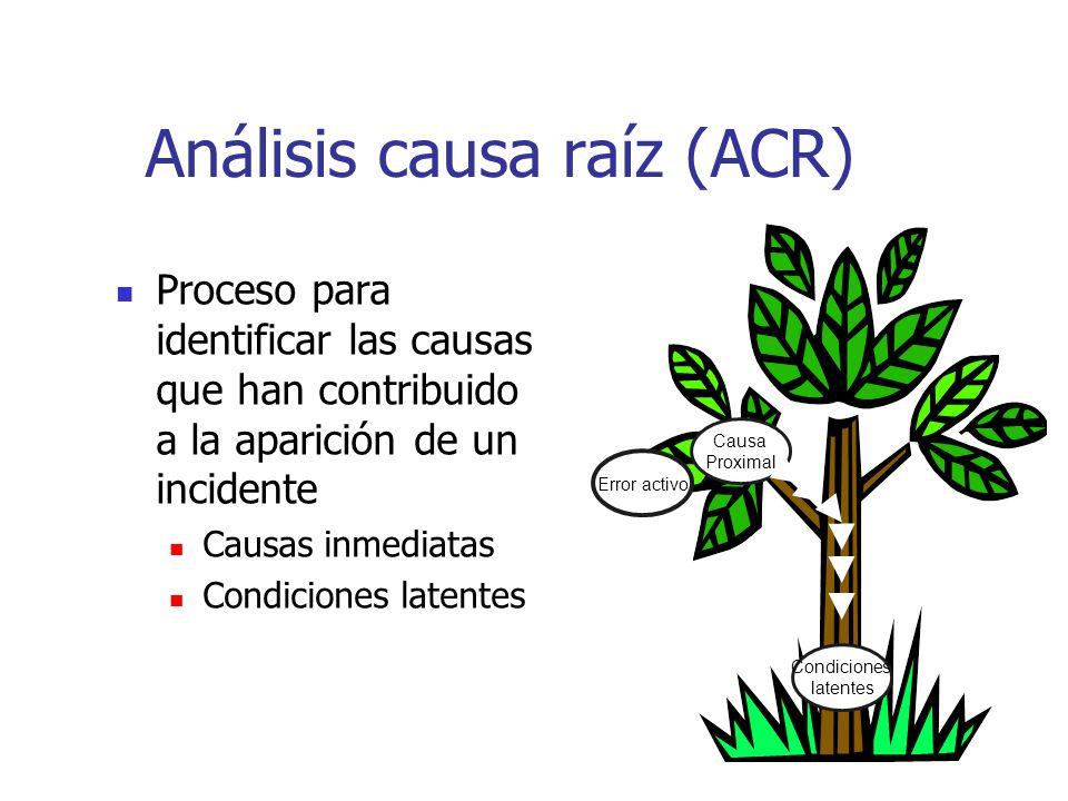 Análisis causa raíz (ACR)