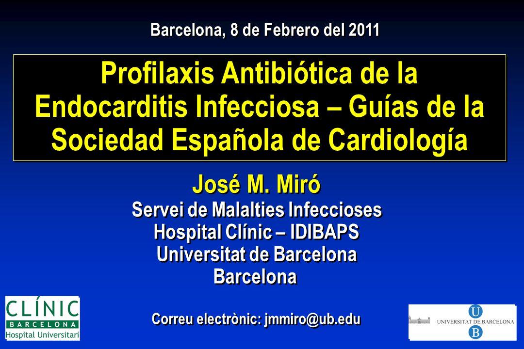 Profilaxis Antibiótica de la