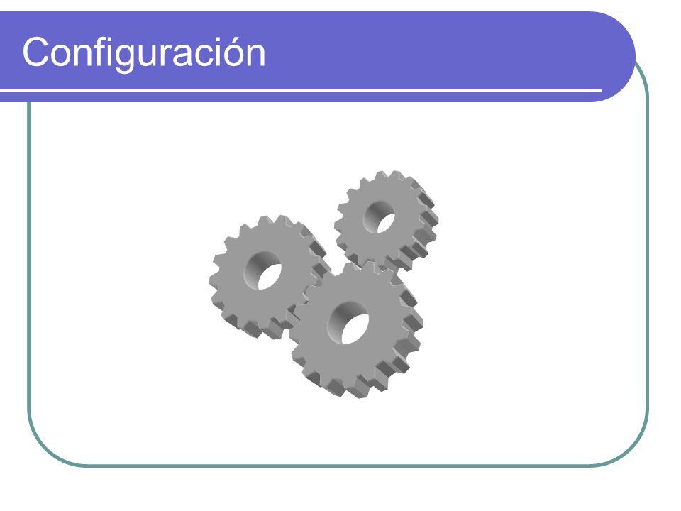Configuración