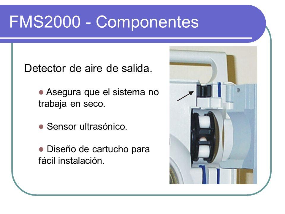 FMS2000 - Componentes Detector de aire de salida.