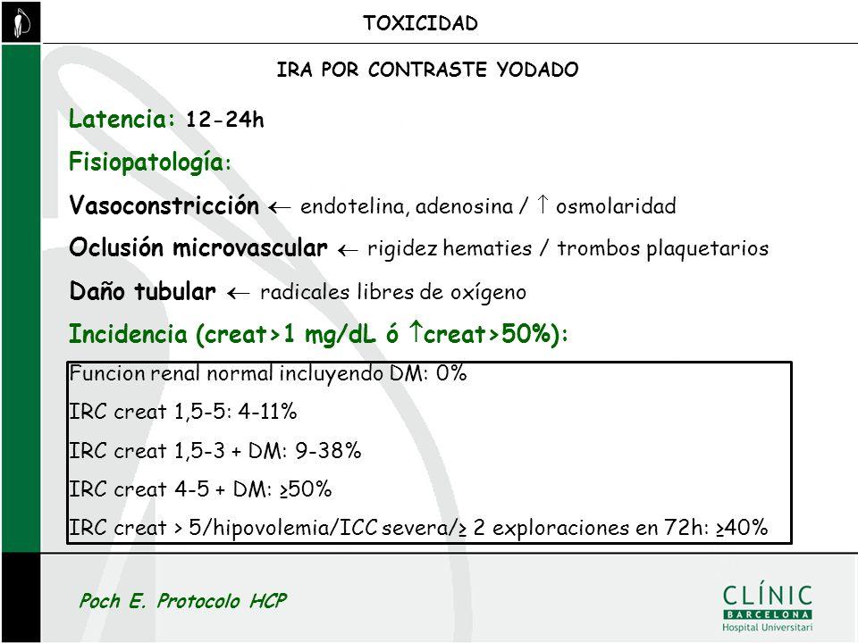 Vasoconstricción  endotelina, adenosina /  osmolaridad
