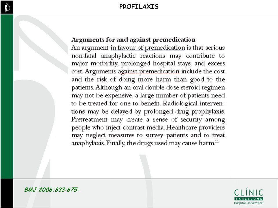 PROFILAXIS BMJ 2006;333:675-