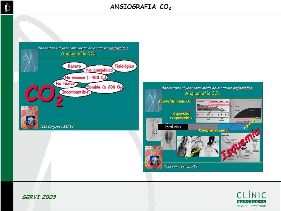 ANGIOGRAFIA CO2 SERVI 2003