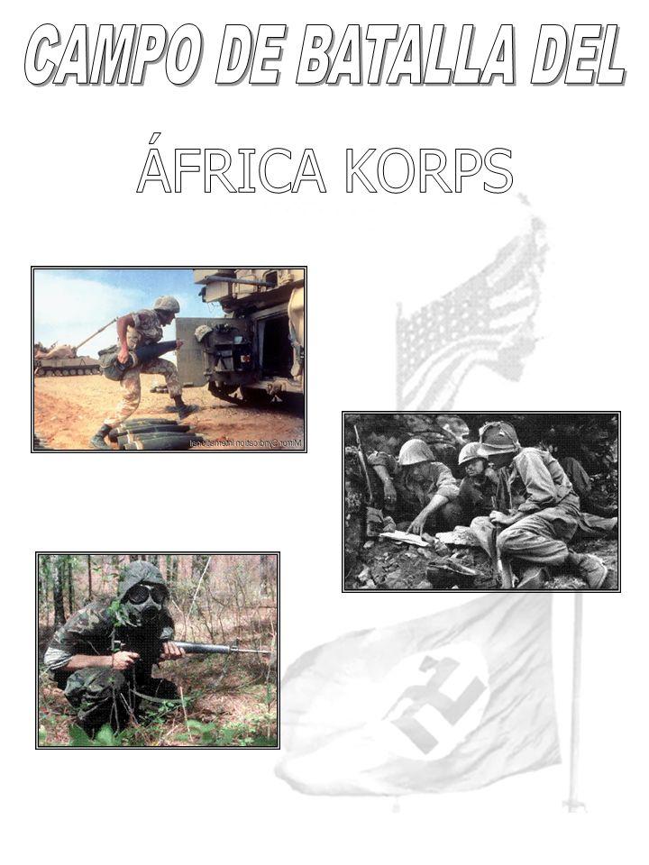 CAMPO DE BATALLA DEL ÁFRICA KORPS