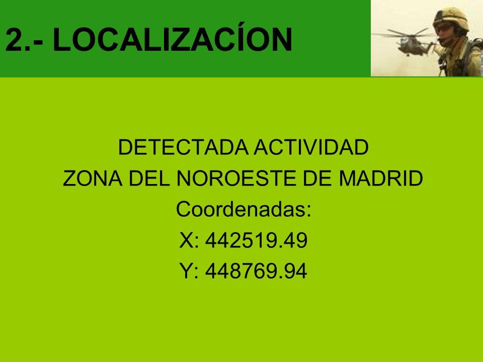 ZONA DEL NOROESTE DE MADRID
