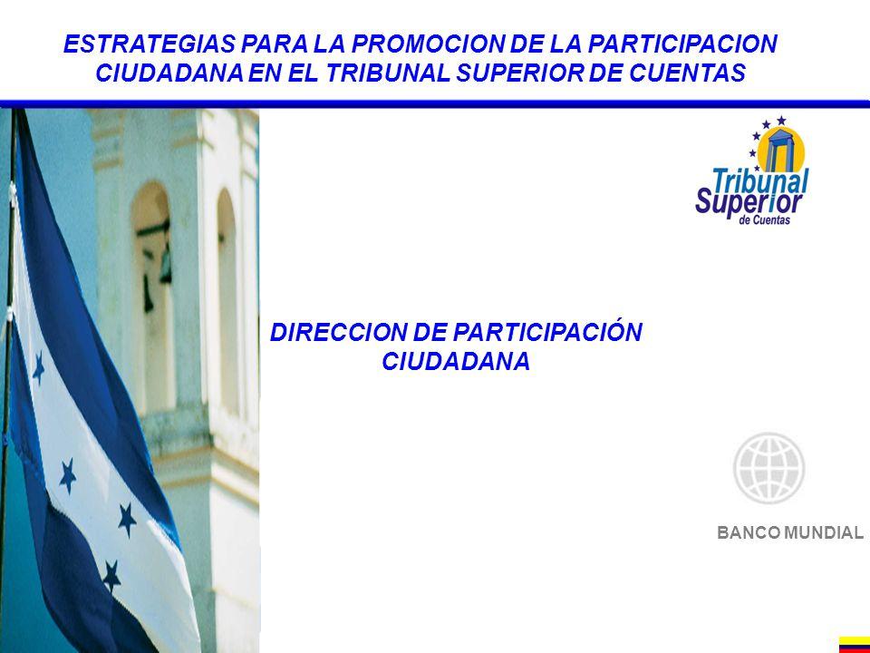 DIRECCION DE PARTICIPACIÓN CIUDADANA