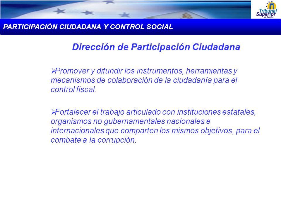 Dirección de Participación Ciudadana