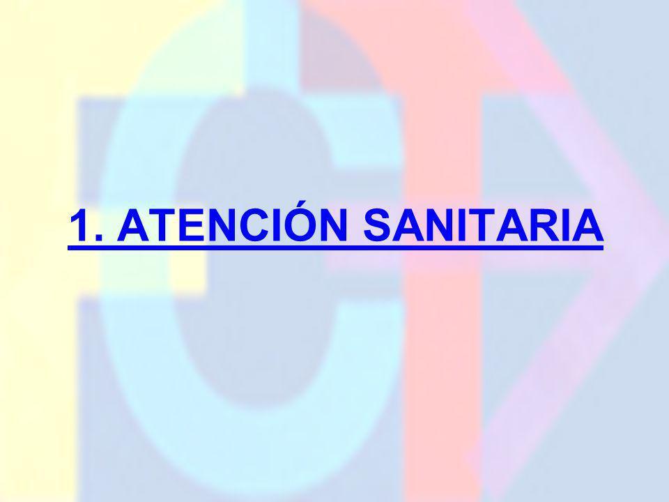 1. ATENCIÓN SANITARIA