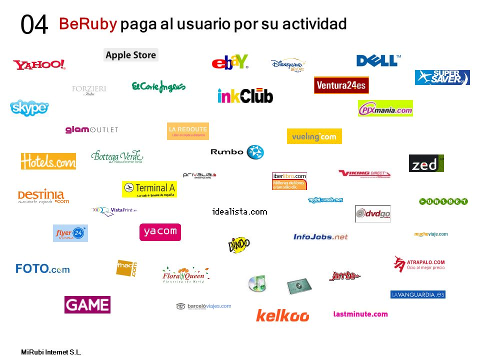BeRuby paga al usuario por su actividad