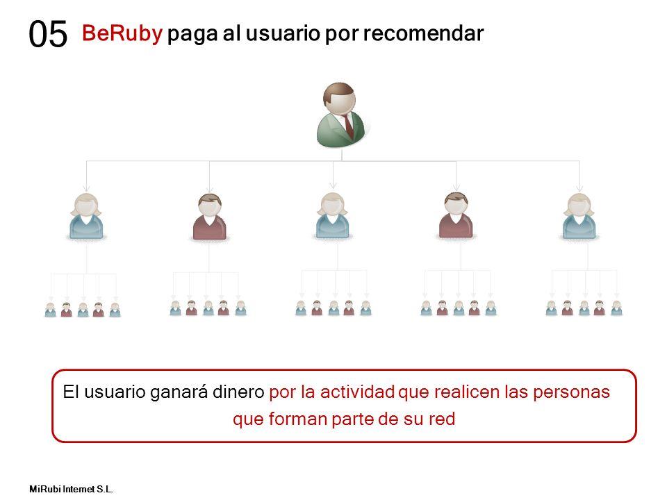 BeRuby paga al usuario por recomendar