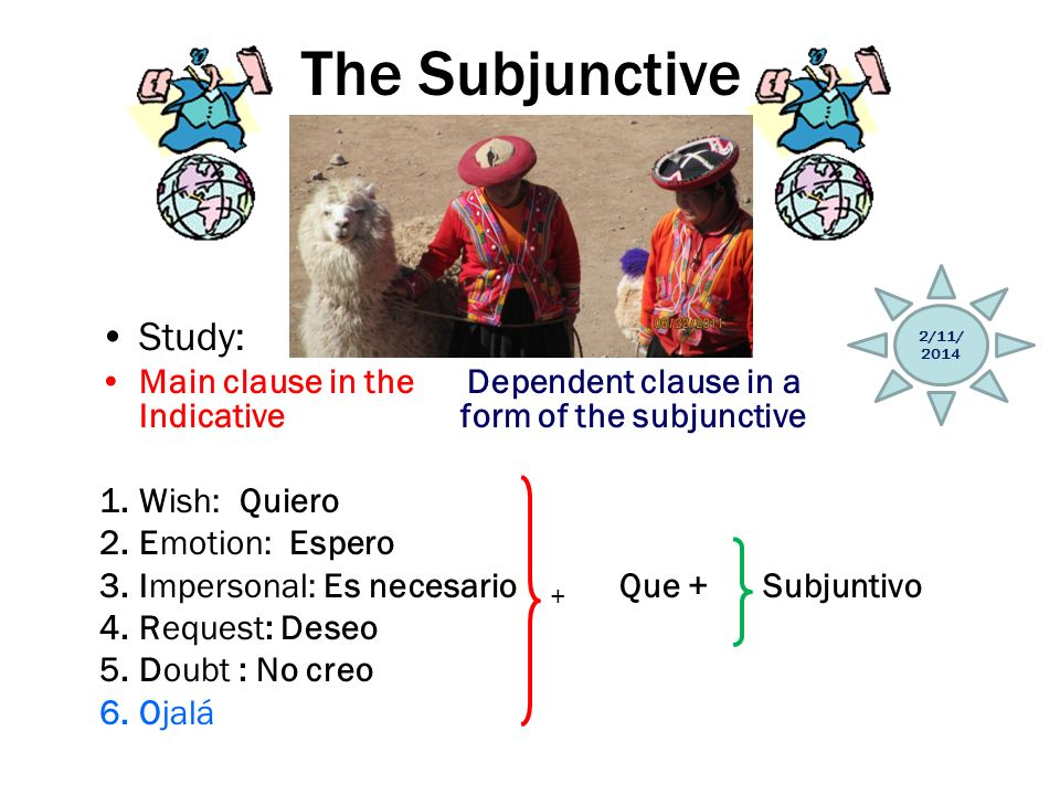 The Subjunctive Study: