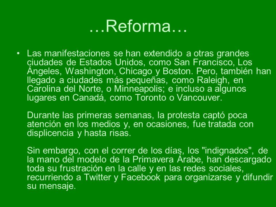 …Reforma…