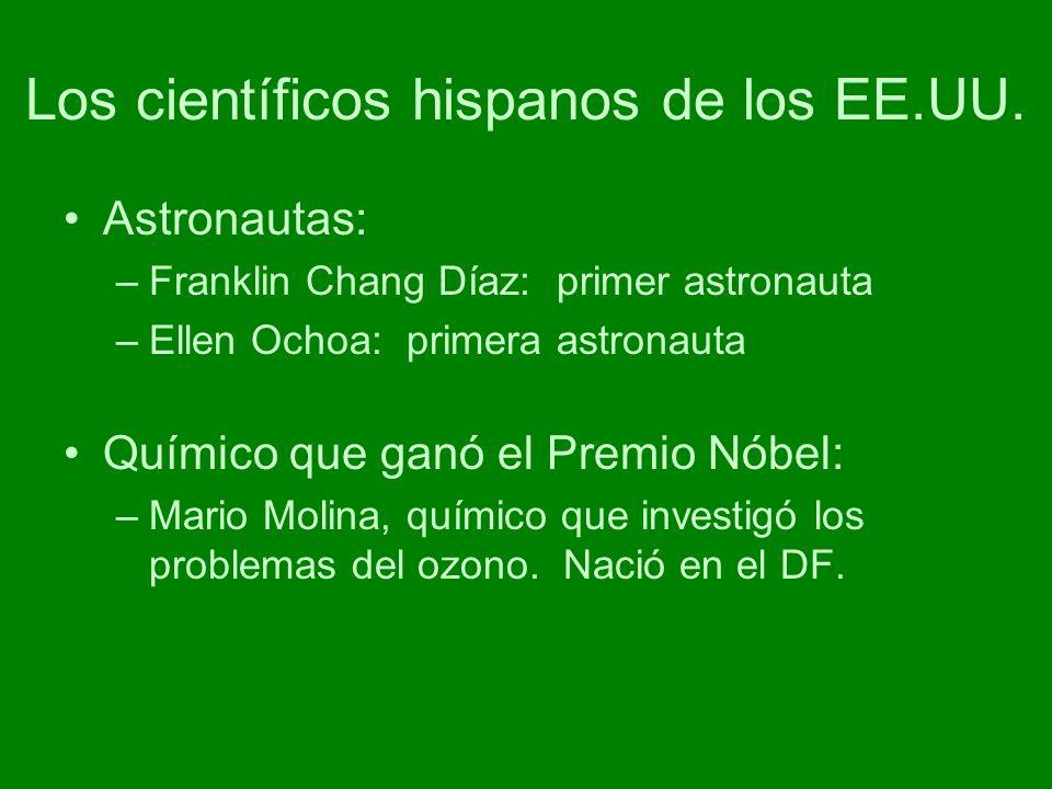 Los científicos hispanos de los EE.UU.