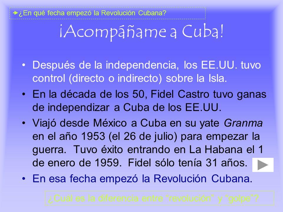 ¿En qué fecha empezó la Revolución Cubana
