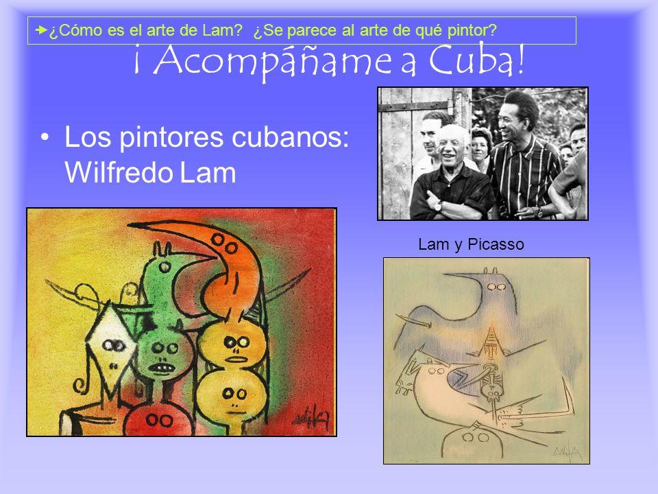 ¡ Acompáñame a Cuba! Los pintores cubanos: Wilfredo Lam