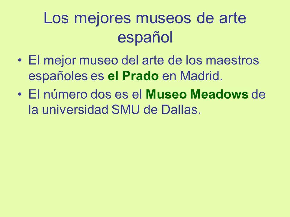 Los mejores museos de arte español