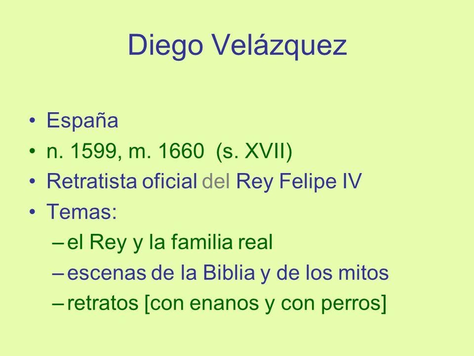 Diego Velázquez España n. 1599, m. 1660 (s. XVII)