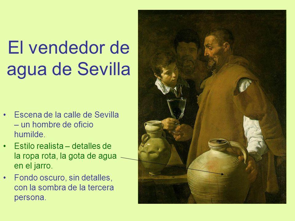 El vendedor de agua de Sevilla