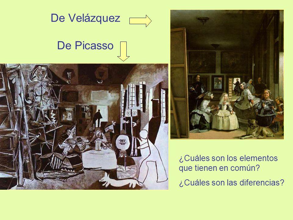 De Velázquez De Picasso