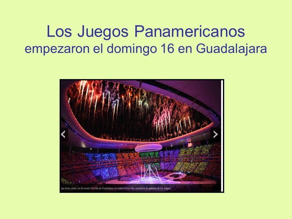 Los Juegos Panamericanos empezaron el domingo 16 en Guadalajara