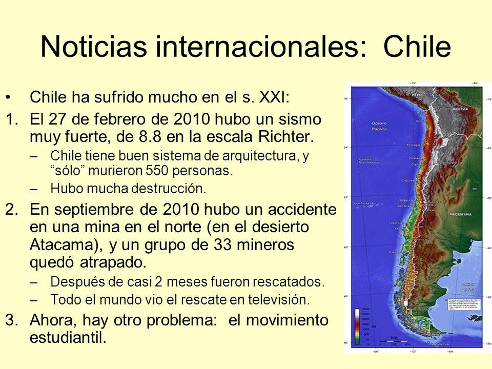 Noticias internacionales: Chile