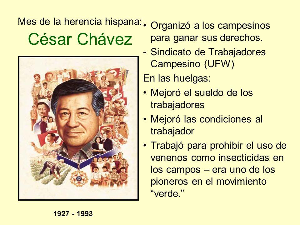 Mes de la herencia hispana: César Chávez