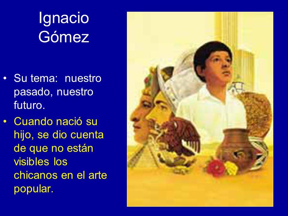 Ignacio Gómez Su tema: nuestro pasado, nuestro futuro.