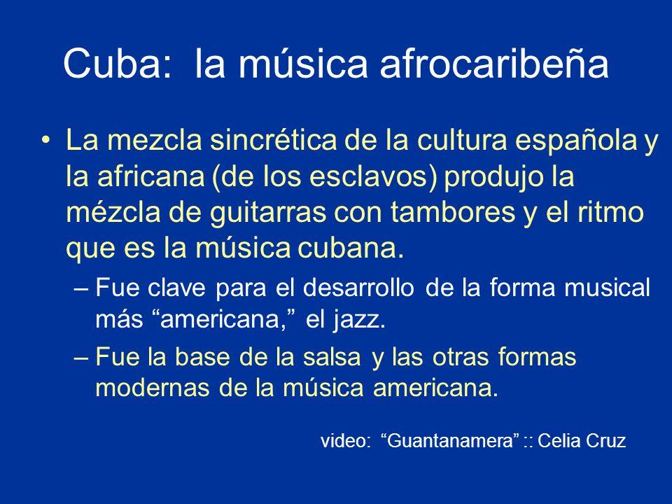 Cuba: la música afrocaribeña
