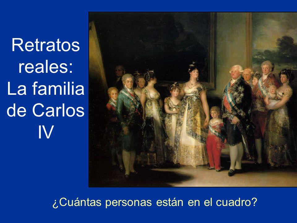 Retratos reales: La familia de Carlos IV