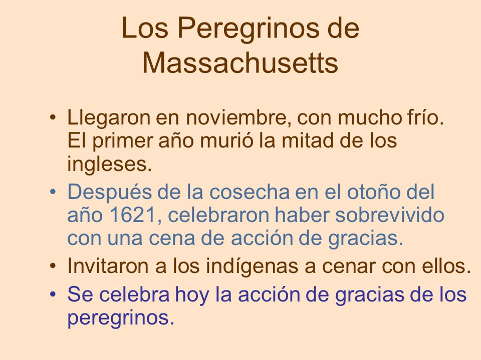 Los Peregrinos de Massachusetts