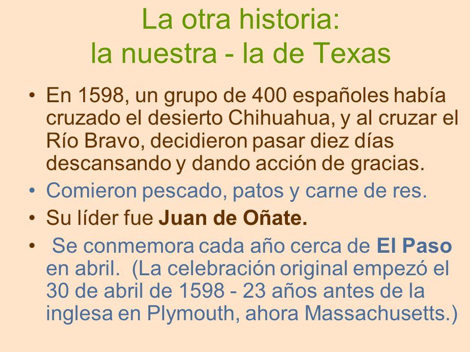 La otra historia: la nuestra - la de Texas
