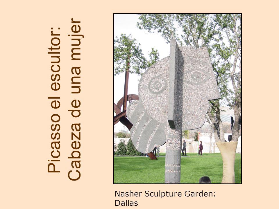Picasso el escultor: Cabeza de una mujer