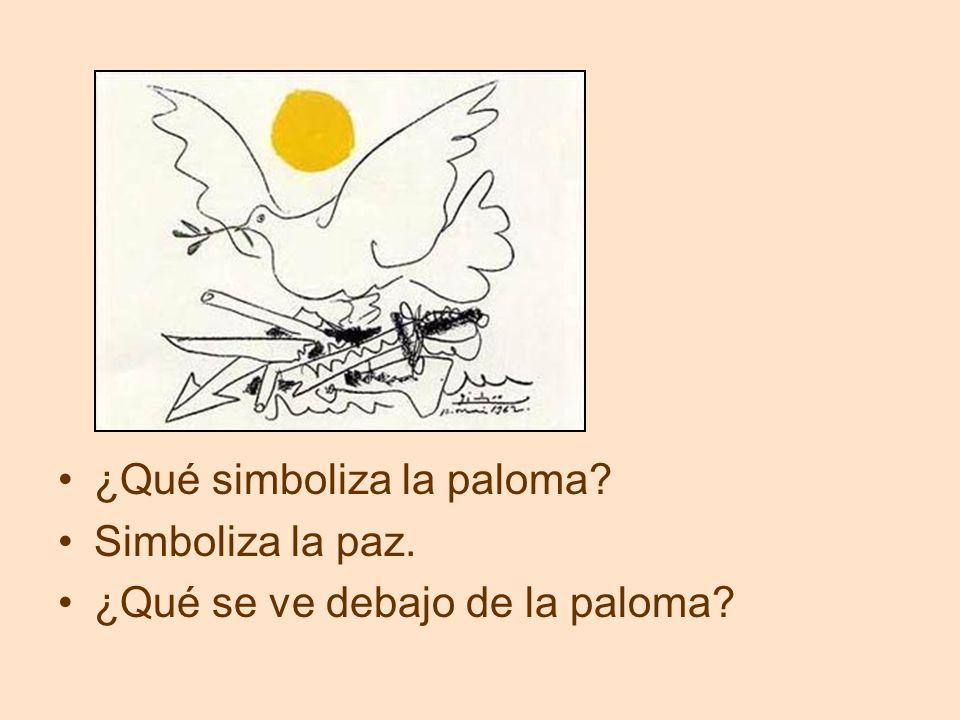 ¿Qué simboliza la paloma