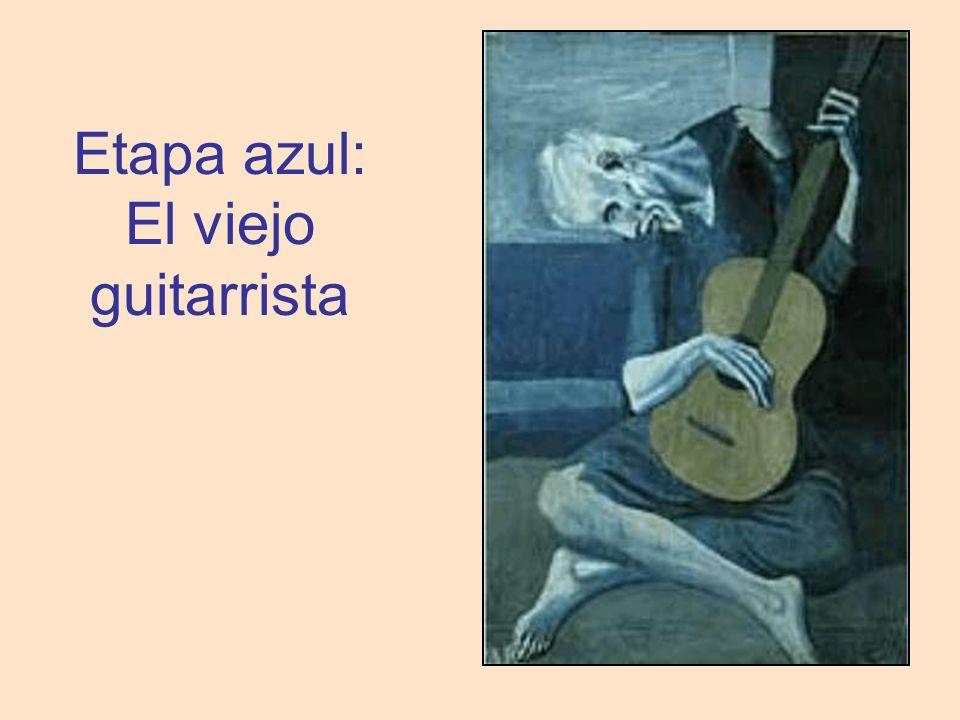 Etapa azul: El viejo guitarrista