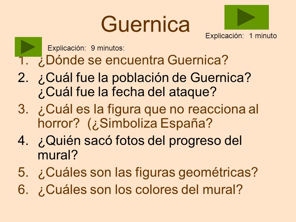 Guernica ¿Dónde se encuentra Guernica