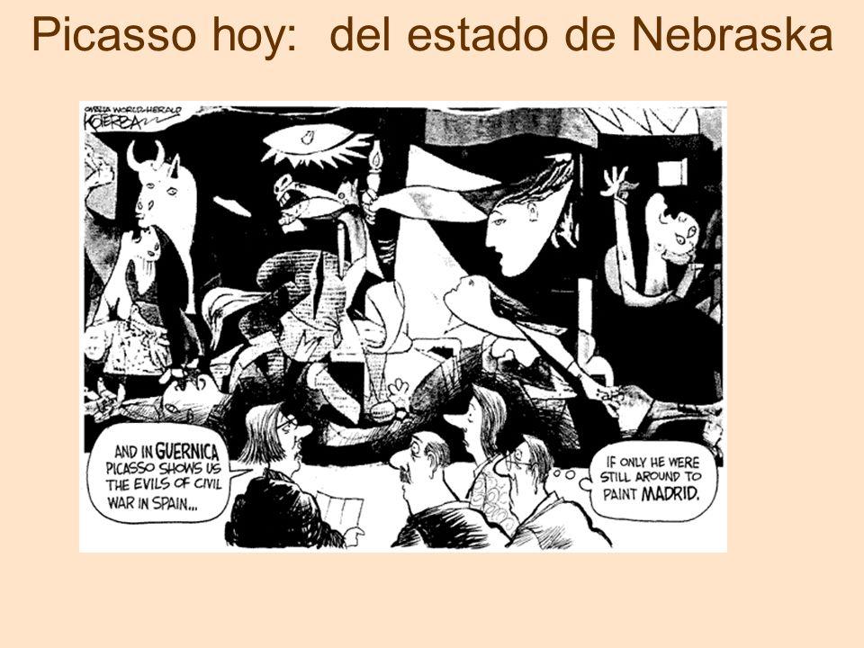 Picasso hoy: del estado de Nebraska
