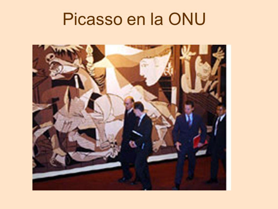 Picasso en la ONU