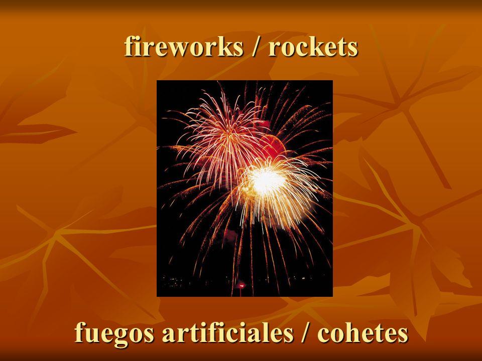 fuegos artificiales / cohetes