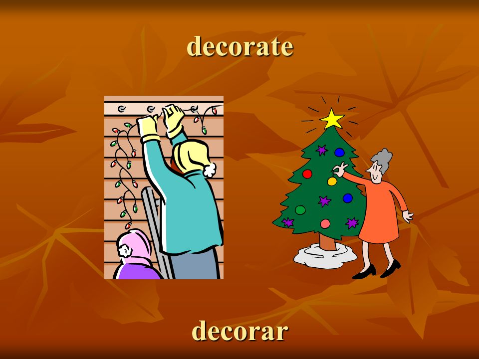 decorate decorar