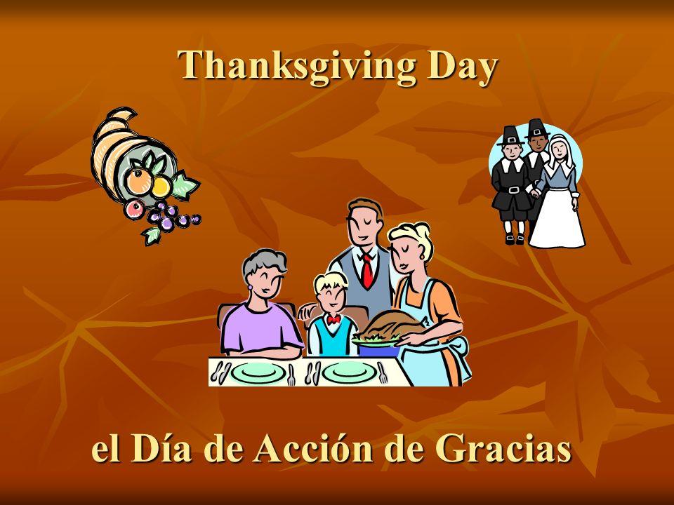 el Día de Acción de Gracias