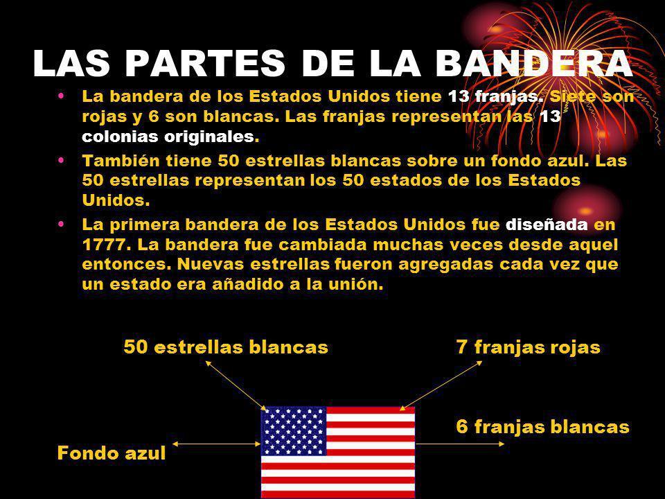 LAS PARTES DE LA BANDERA
