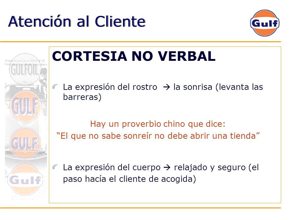 Atención al Cliente CORTESIA NO VERBAL