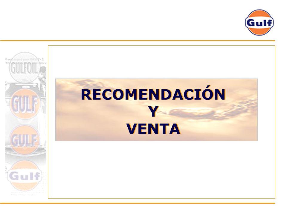 RECOMENDACIÓN Y VENTA