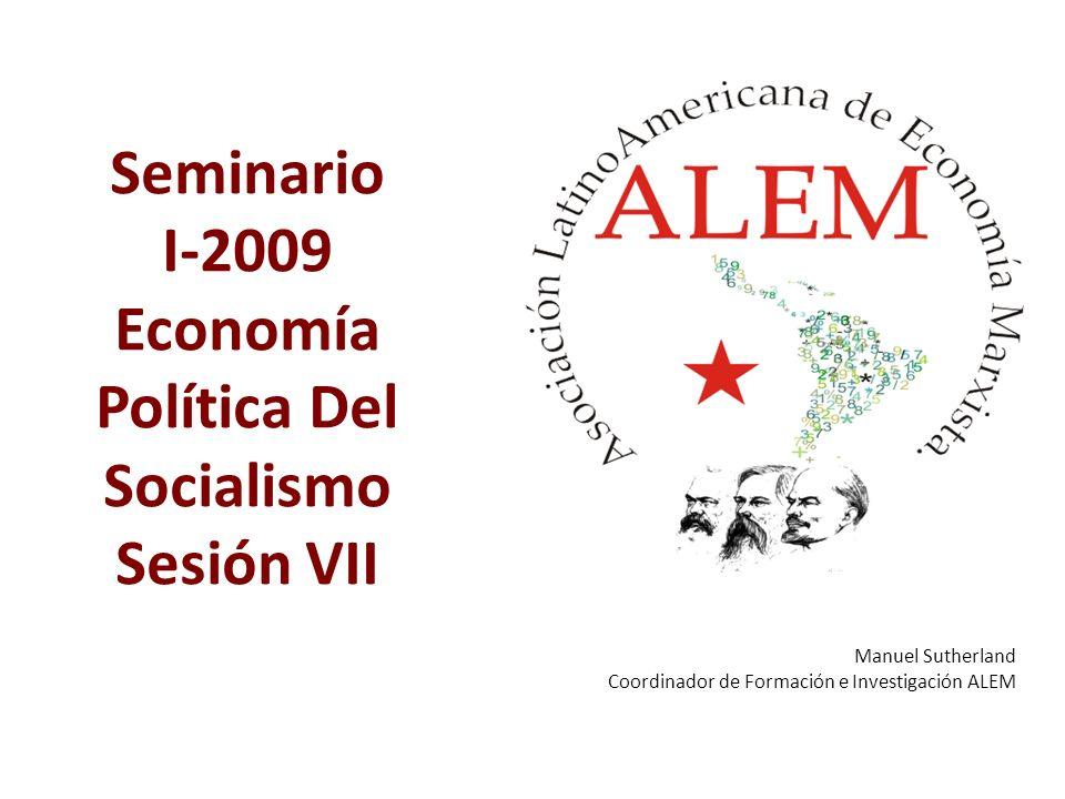 Economía Política Del Socialismo