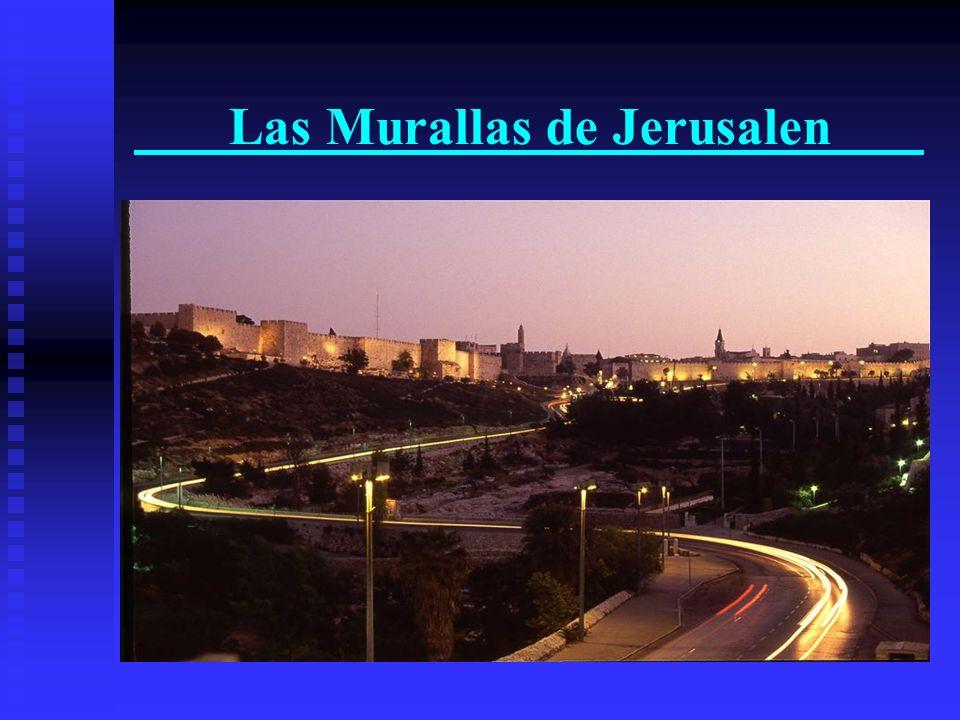 Las Murallas de Jerusalen